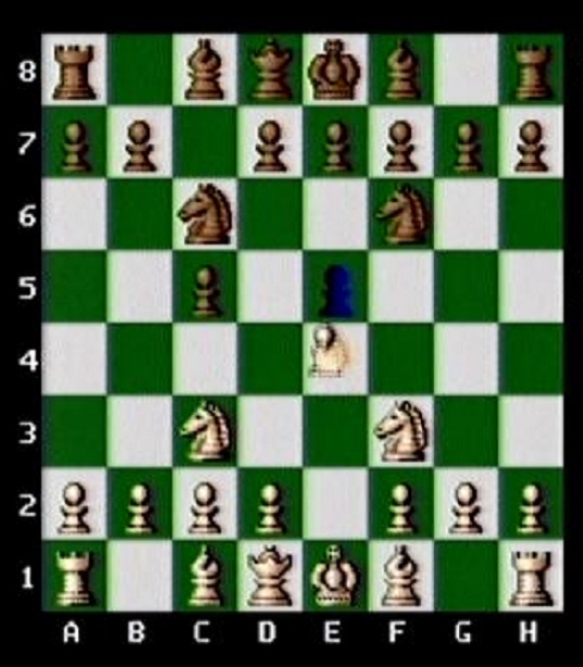 After Pawn first move