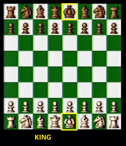 Beginning King positions