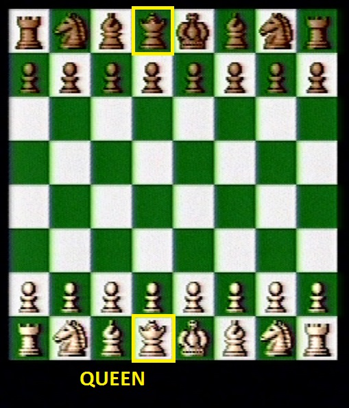 Beginning Queen positions